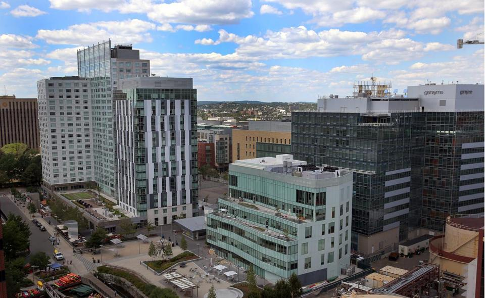 Ipsen executives said the main reason for the move was to be closer to the mass of biotech firms in Kendall Square.