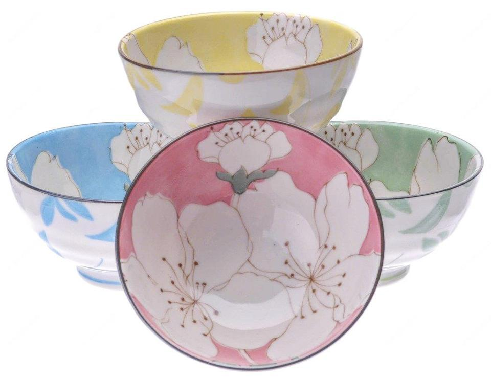 """Magnolia Blossom"" bowls from the Museum of Fine Arts store."