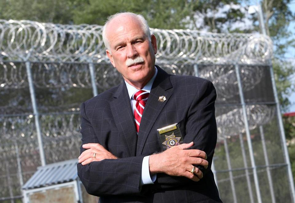 Bristol County Sheriff Thomas Hodgson supports a bill on Beacon Hill that would allow local law enforcement to arrest and detain individuals wanted solely for immigration violations.