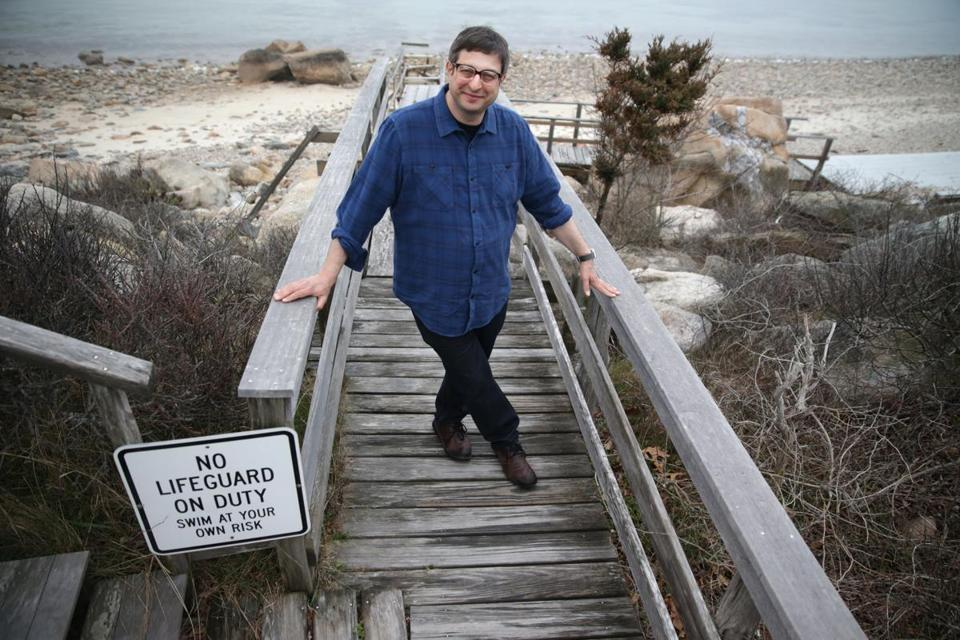 Eugene Mirman, who has a headlining set at Boston Calling, lives with his family on Cape Cod.