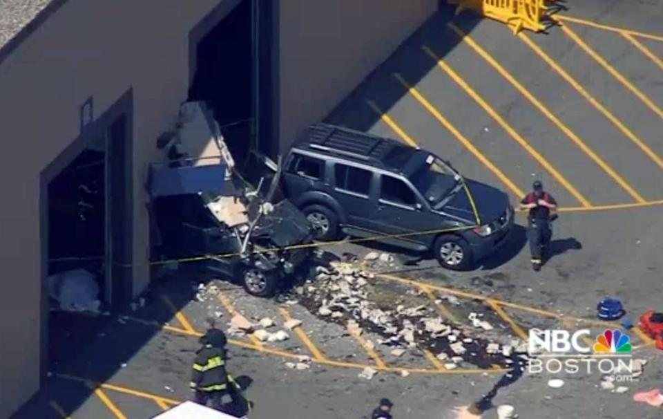 In addition to the five who died, another nine people were injured when a Jeep Grand Cherokee driven by Roger Hartwell suddenly lurched forward and sped into the crowd at the auction facility.