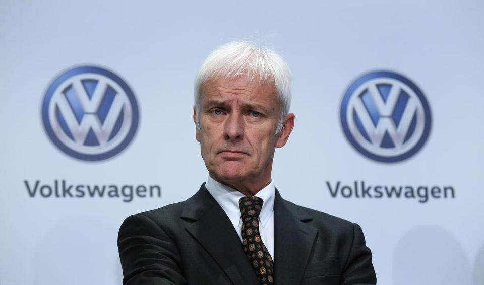 German prosecutors said on Wednesday that Volkswagen CEO Matthias Mueller was under investigation over whether he had failed to warn shareholders soon enough about the scandal.