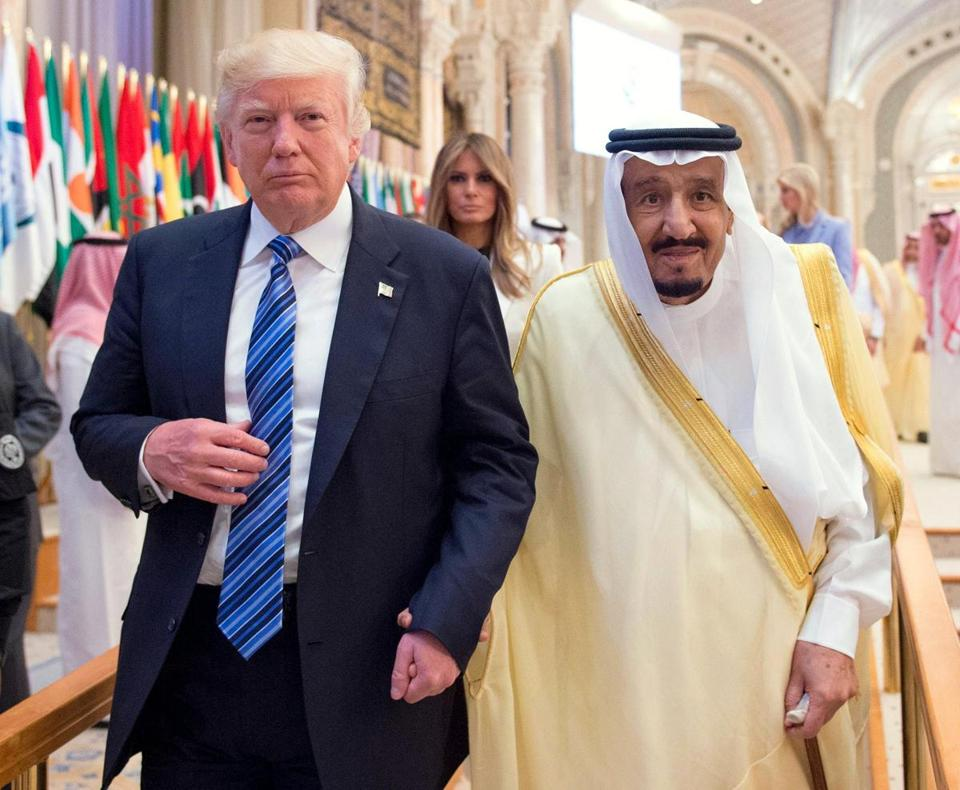 Image result for Trump's Visit to MidEast