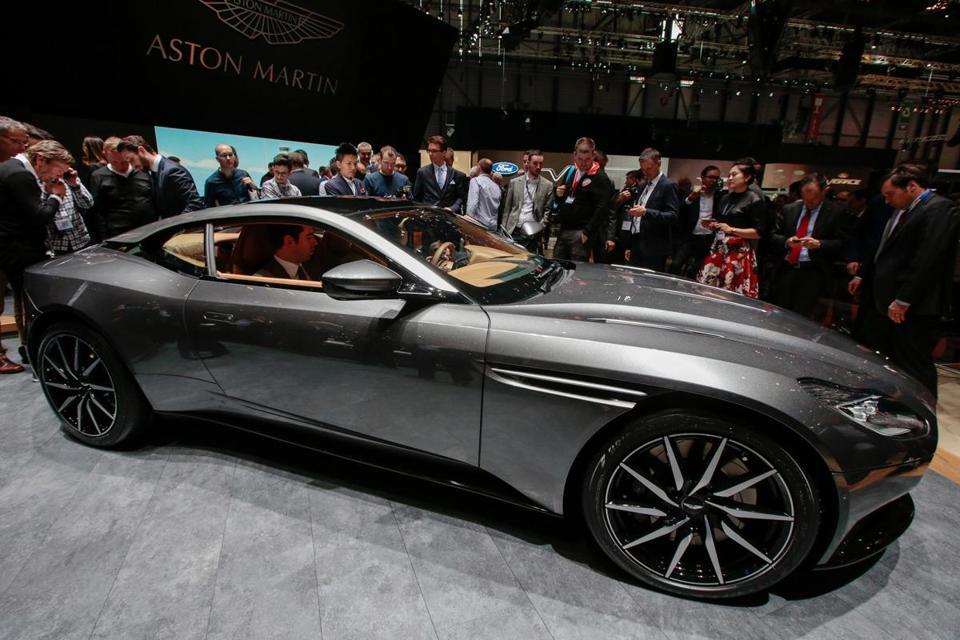 Aston Martin Swings To Profit As Sales Double On DB11 Sports Car   The  Boston Globe