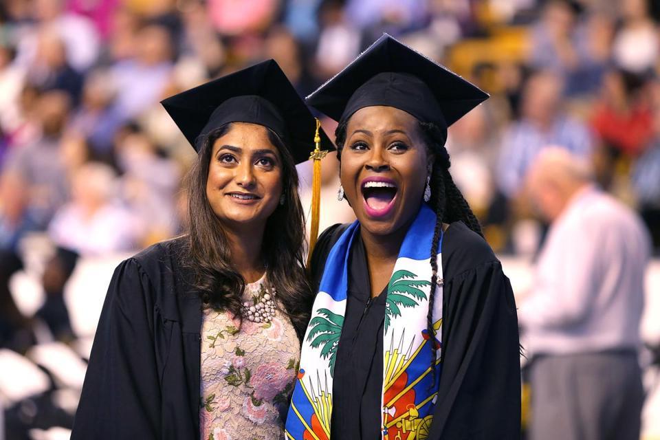 Umass Boston Graduation 2020.Umass Boston Graduation Cheering Dancing In The Halls