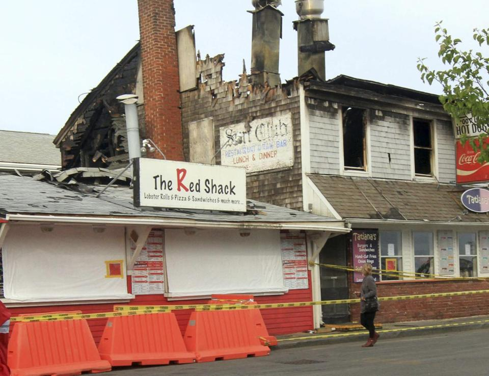 Provincetown Fire Damages Restaurants As Summer Tourist Season