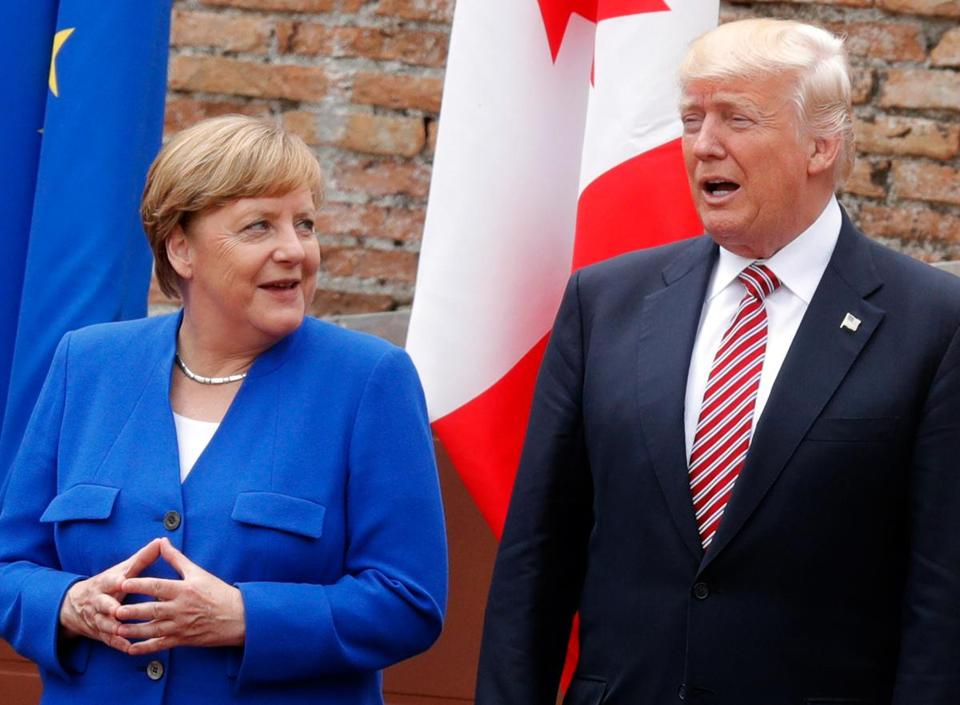 German Chancellor Angela Merkel and President Trump met with other heads of state last week at the G7 summit in Sicily. Merkel has said that Europe can no longer rely on the United States.