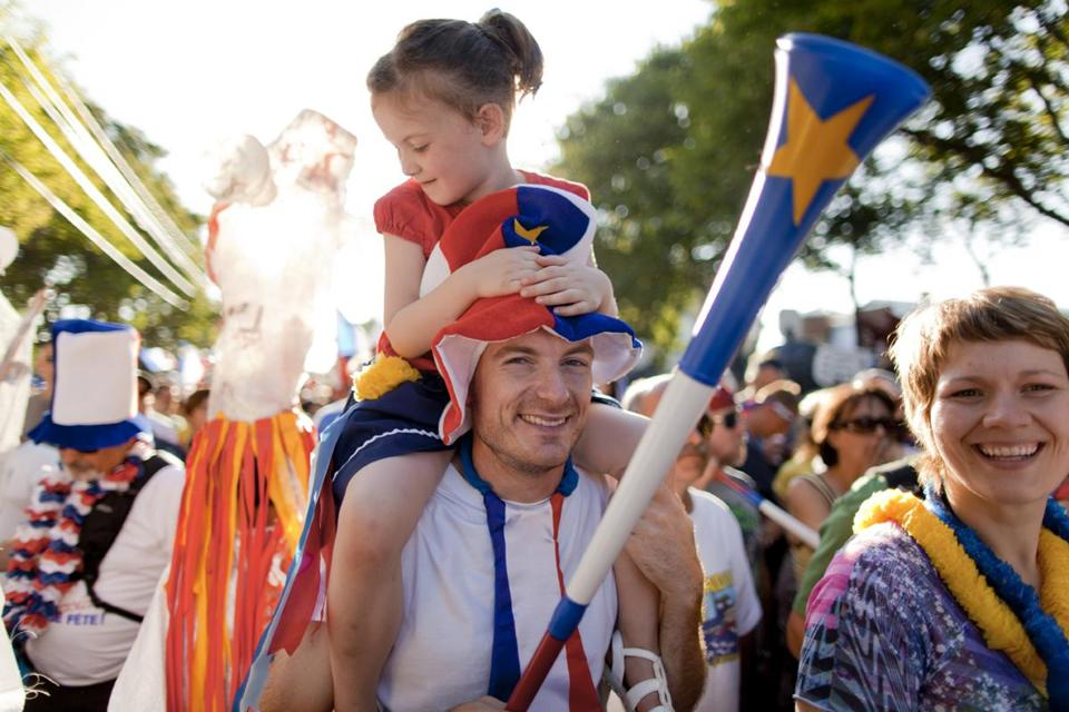 Grab a friend  and head to  the Festival  Acadien de  Caraquet in  New Brunswick.