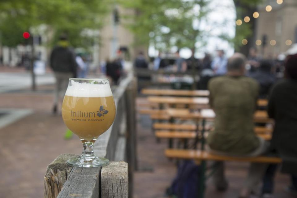The seasonal open-air beer garden, which will run weekly through October, is free to get into, with draft beer from Trillium and wine from Westport Rivers Winery available for purchase.