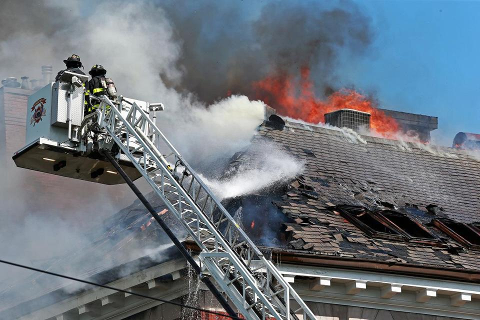 A Multi Alarm Fire Broke Out This Afternoon At A Condo Building Located At 52