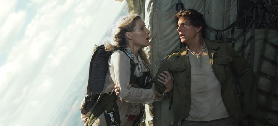 "Annabelle Wallis plays an archeologist and Tom Cruise an antiquities thief in ""The Mummy."""