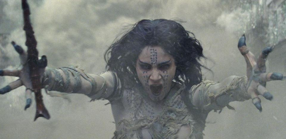 "Sofia Boutella in ""The Mummy."""