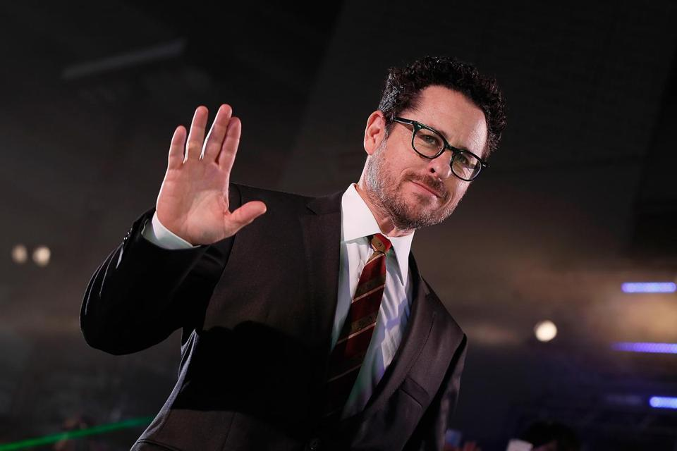 "J.J. Abrams (pictured in Tokyo in 2016) is reportedly behind ""Castle Rock,"" a Hulu television series that will film in Massachusetts."