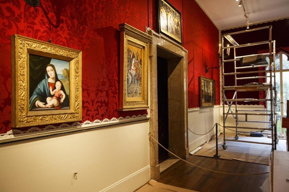 A $1.5 million restoration project at the Isabella Stewart Gardner Museum's Raphael Room features new flooring and lighting along with work on the room's textiles.