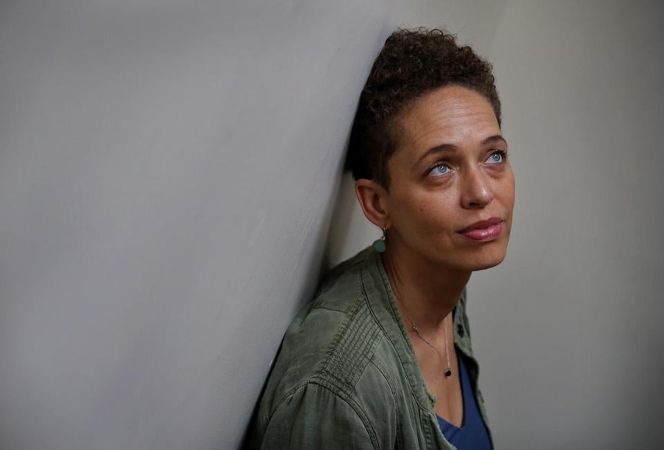 Fanshen Cox DiGiovanni, who grew up in Cambridge and is biracial, has spent much of her life grappling with her racial identity through story and performance.