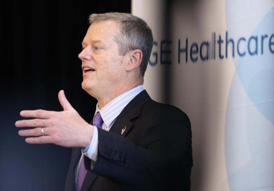 "The families and individuals who would lose health coverage under the Senate bill ""are among our lowest-income residents,"" Governor Charlie Baker said."