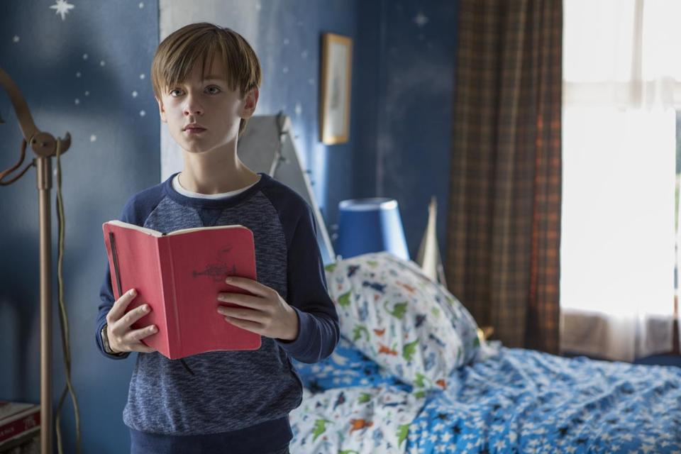 "Jaeden Lieberher stars as Henry in ""The Book of Henry."""
