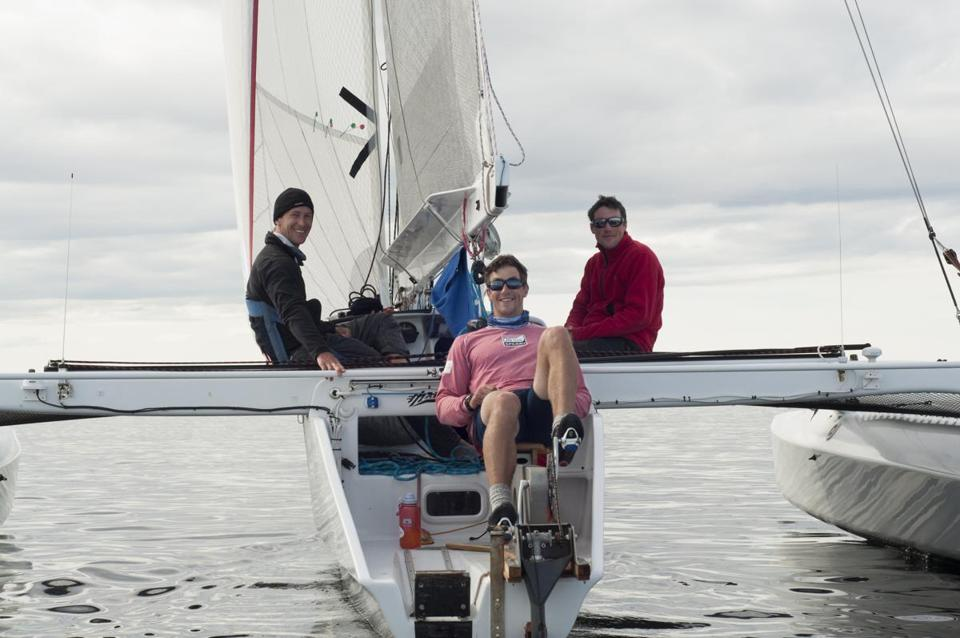 Three brothers from Marblehead won a more-than-700-mile race that began in Washington and ended in Alaska.
