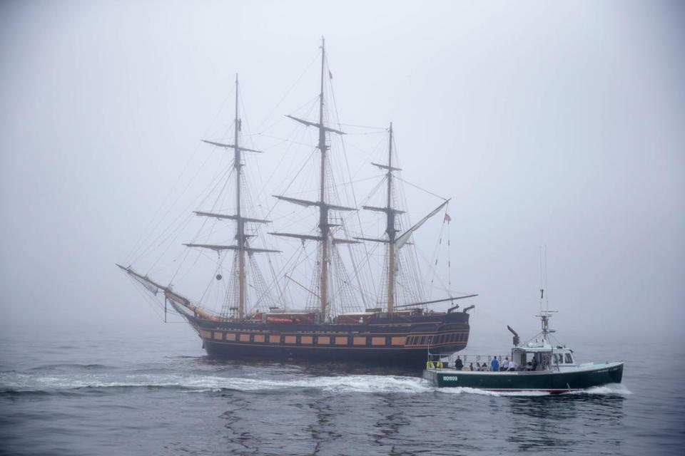 Planning To See The Tall Ships Sail Into Boston Harbor Read This - Boston tall ship cruise