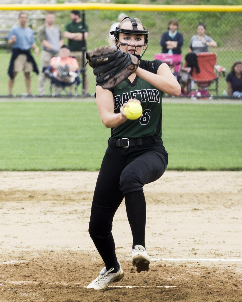"Grafton High pitcher Savannah Small got ""stronger and stronger as game went on,"" said coach John Gemme."