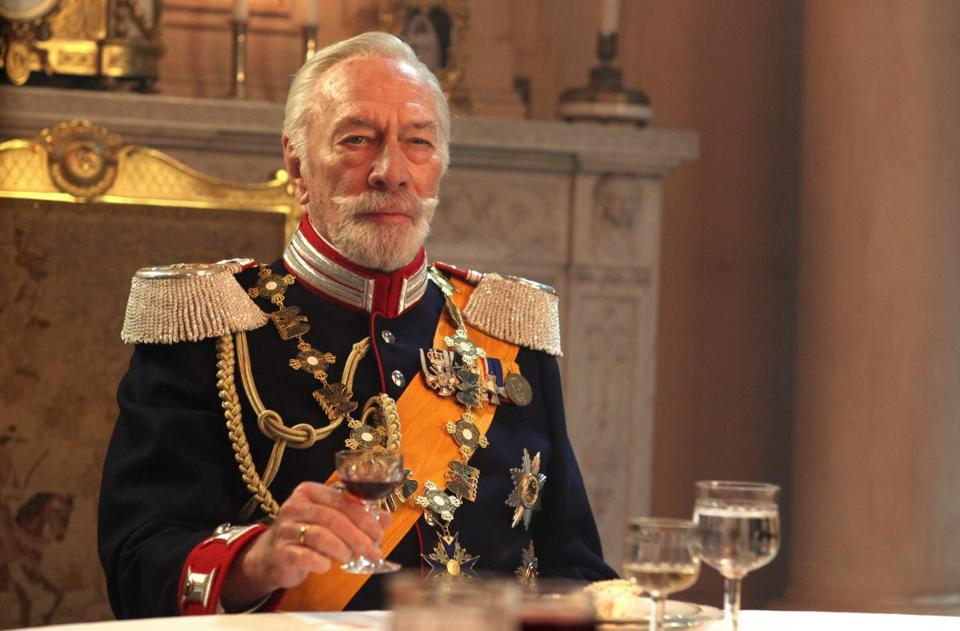 "Christopher Plummer stars in ""The Exception."""
