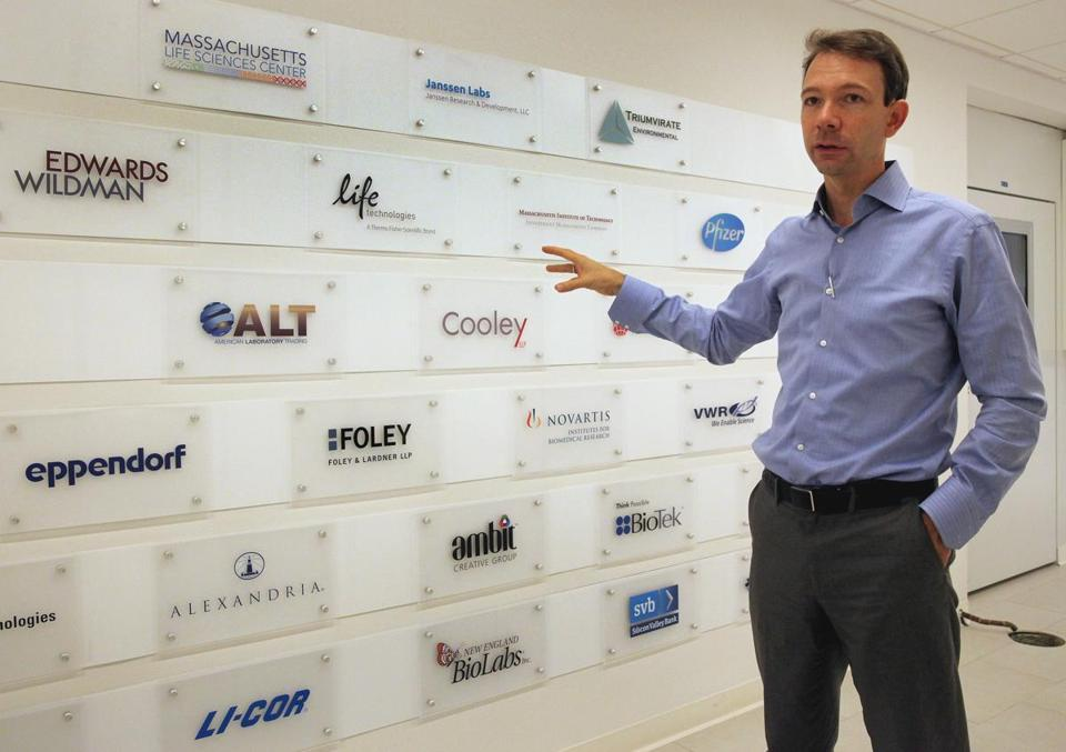 Cofounder Johannes Fruehauf said LabCentral, which currently operates in 28,000 square feet, has a waiting list of early-stage companies seeking space.