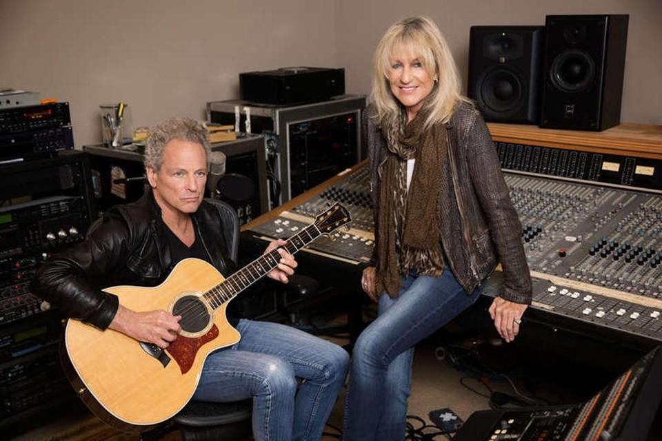 Lindsey Buckingham and Christine McVie play Blue Hills Bank Pavilion June 28.