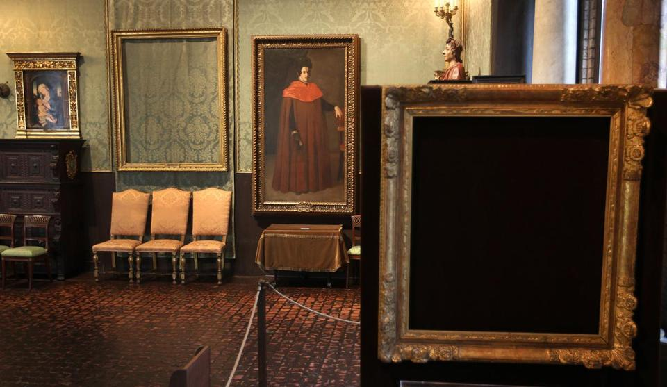 "The theft of artworks from the Isabella Stewart Gardner Museum is the subject of ""Empty Frames: A Heist Story."""