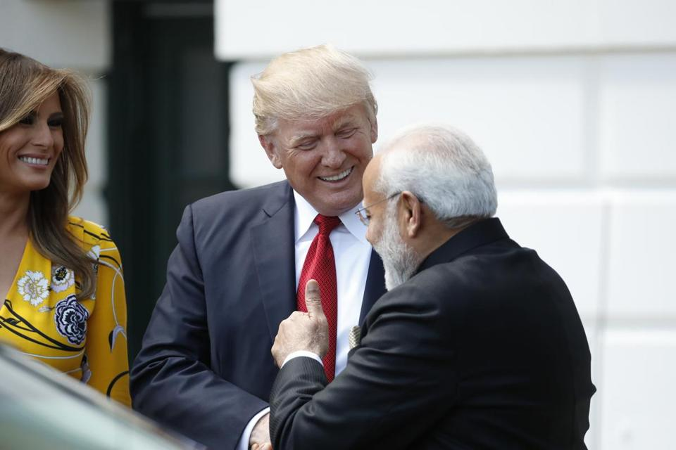 President Trump and India's Narendra Modi share a populist streak but their economic agendas could clash.