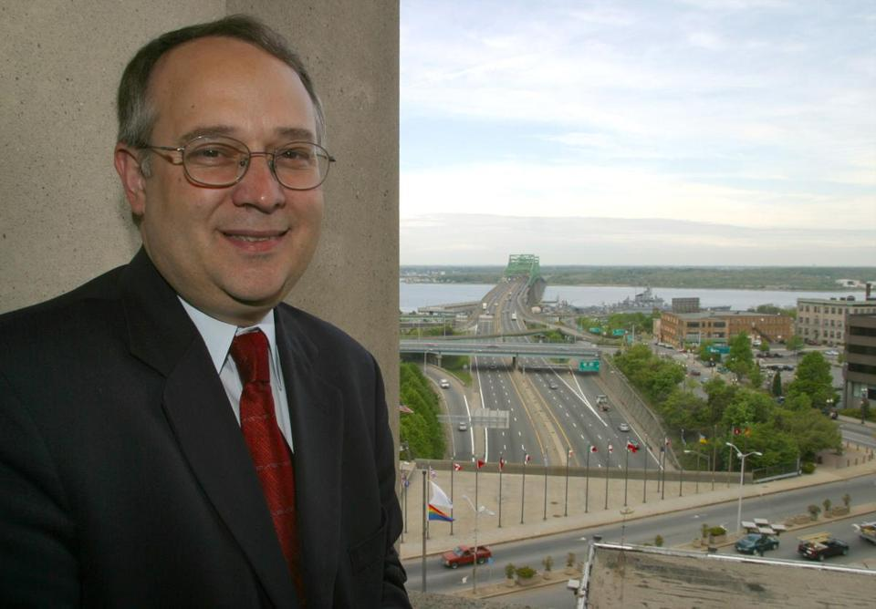 Ed Lambert was a state representative and mayor of Fall River before coming to UMass Boston.