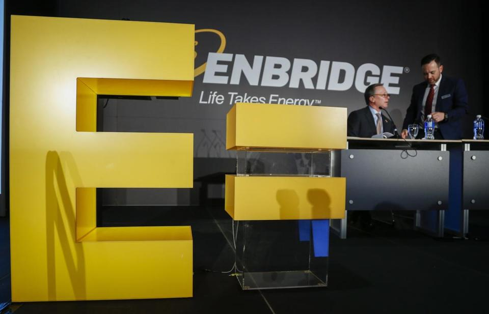 Pipeline operator Enbridge, together with Eversource and National Grid, said it needs more time to build political support for a proposed tariff on electric ratepayers.