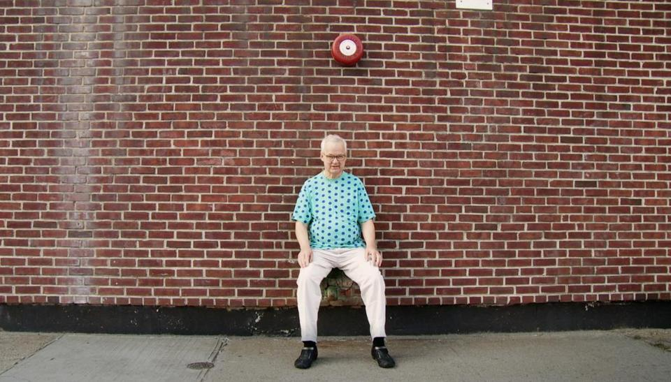 "Tony Conrad is shown in Tyler Hubby's documentary, ""Tony Conrad: Completely in the Present."""