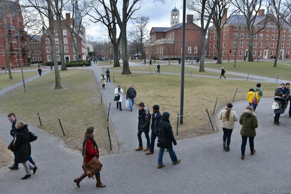 Harvard University was in second place on US News & World Report's annual college and university rankings.