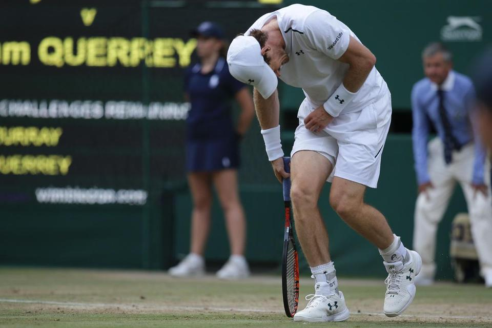 Defending Ch Andy Murray Stunned By Sam Querrey At Wimbledon