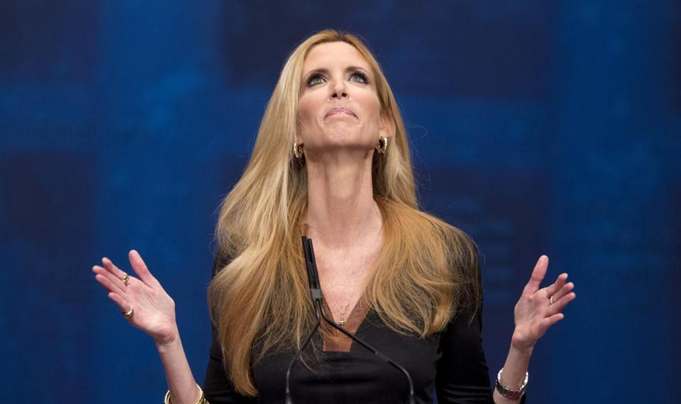Ann Coulter let loose a long string of complaints against Delta after the airline asked her to change seats on her Saturday flight.