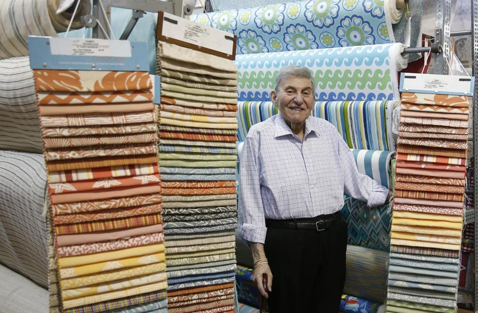 `Freddy Farkel' says people know a good fabric when they ...
