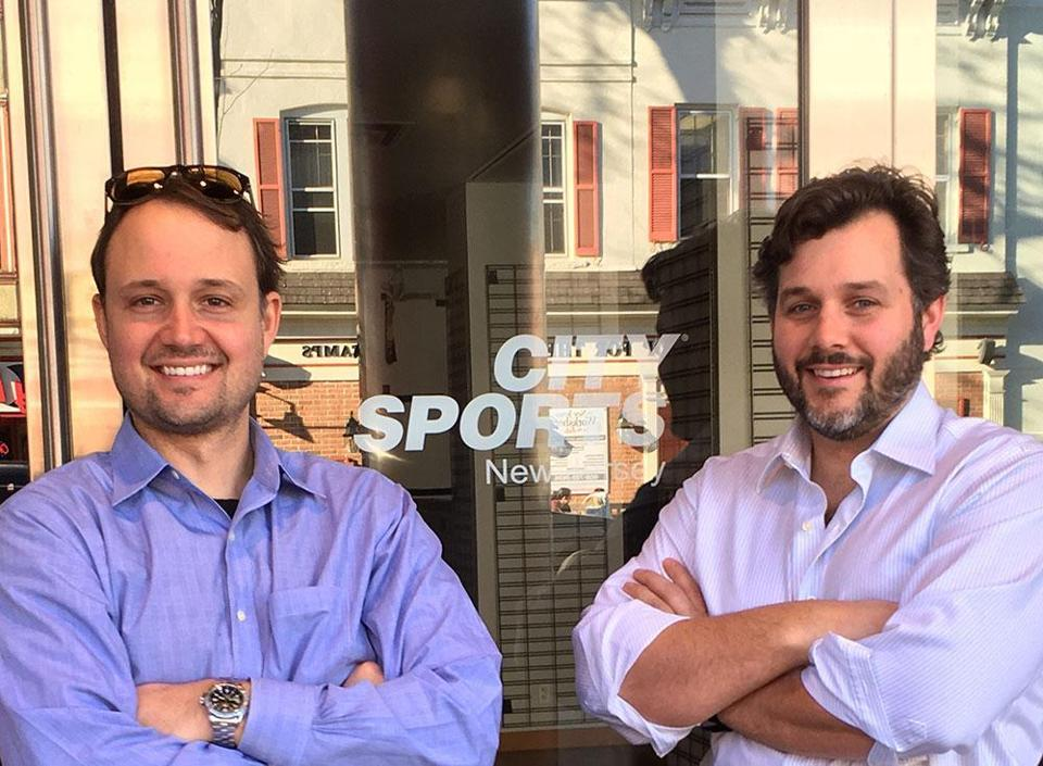 City Sport USA Owners Brent and Blake Sonnek-Schmelz.