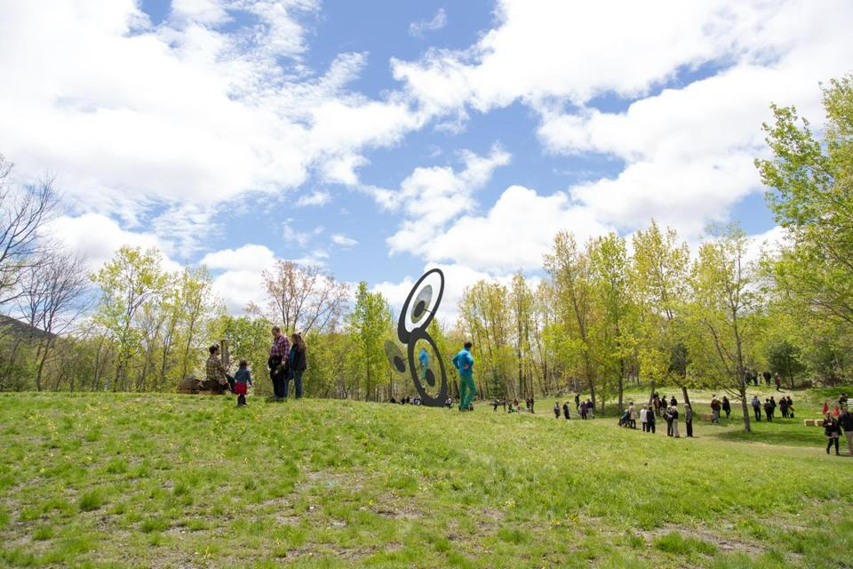 Turn Park Arts Space — a new sculpture park and cultural hub in West Stockbridge.