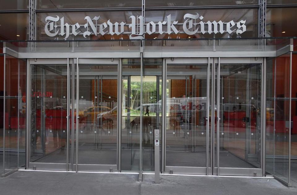 Fox News spends more than $100000 to poke fun at NYT - The Boston Globe & Fox News spends more than $100000 to poke fun at NYT - The Boston ... 25forcollege.com