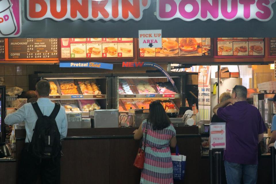Naming Dunkin Donuts America S Fuel The Boston Globe