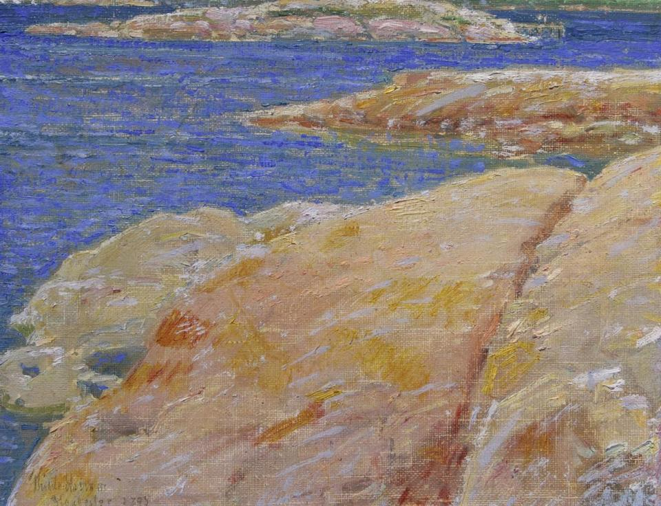 "Childe Hassam's ""Ten Pound Island, Gloucester."""
