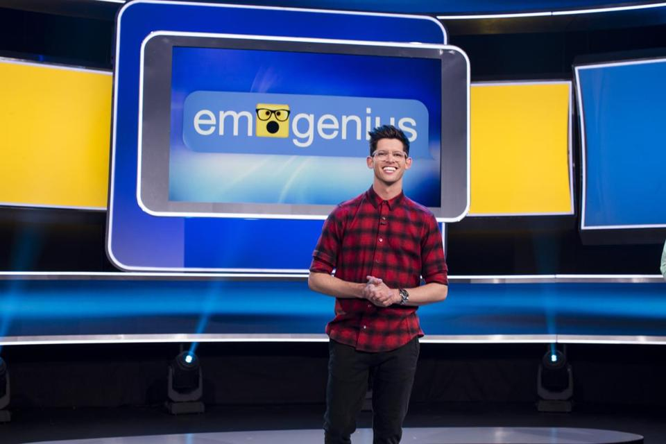 "Hunter March hosts ""Emogenius"" on GSN."