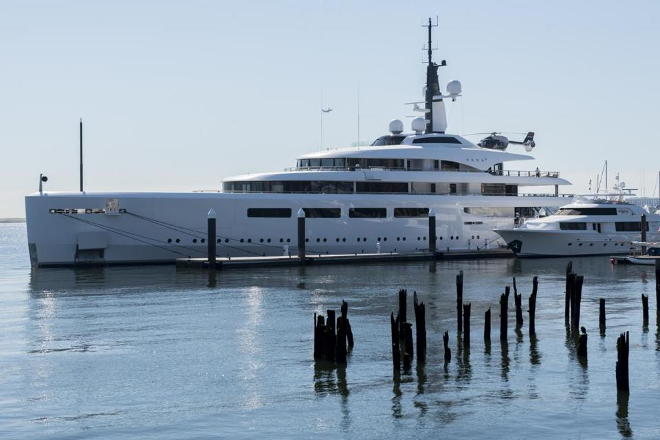 that s one big and expensive yacht vava ii visits boston harbor