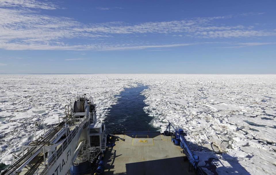The once-forbidding sea route through the Arctic Circle has been opening up sooner and for a longer period each summer because of climate change.