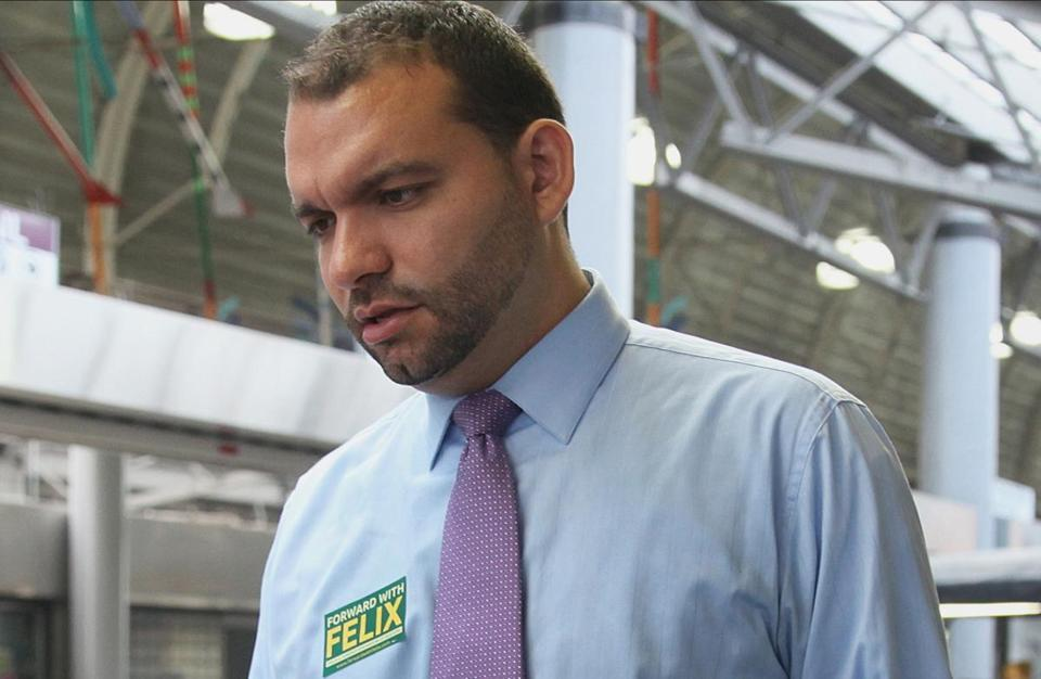 Boston's chief of human services, Felix G. Arroyo, was placed on paid administrative leave pending an internal investigation.