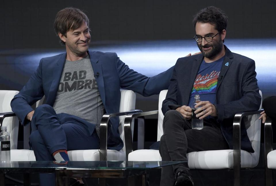 The Duplass brothers: Mark (left) and Jay