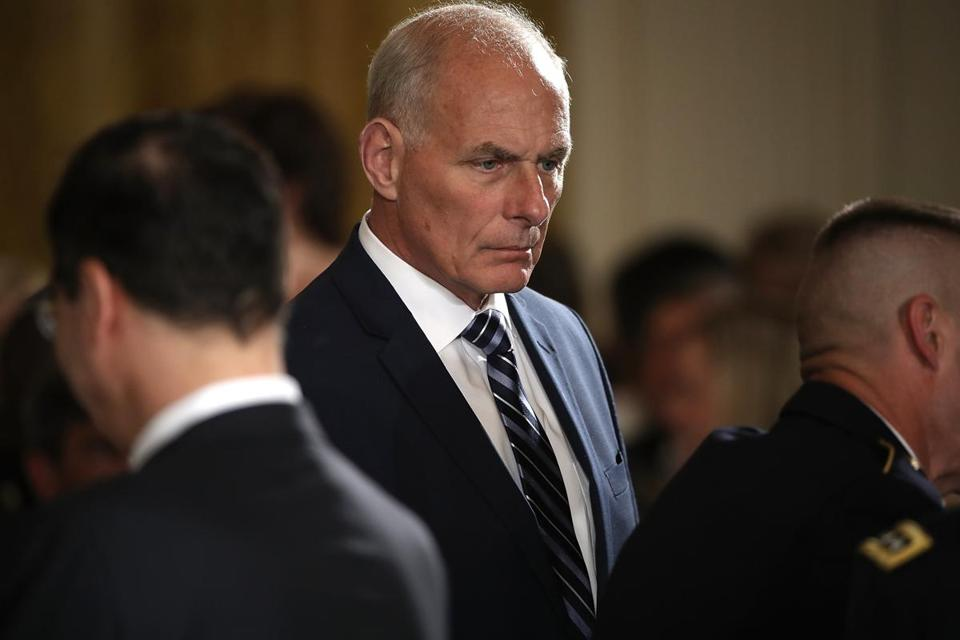 White House Chief of Staff Gen. John Kelly.