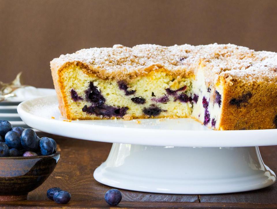 recipe for blueberry buckle the boston globe - Kuchen U Form Bilder