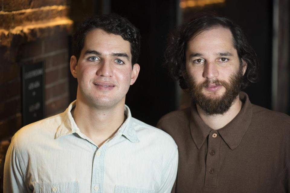 "Benny (left) and Josh Safdie, co-directors of ""Good Time,"" in Boston earlier this month for a screening of their new film."