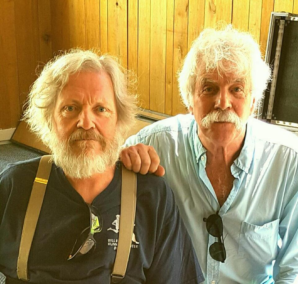 Three weeks before he died, Jack Coakley (left) met folk singer Tom Rush for the first time at a concert in Vermont. It was the 25th time Coakley saw Rush in concert.